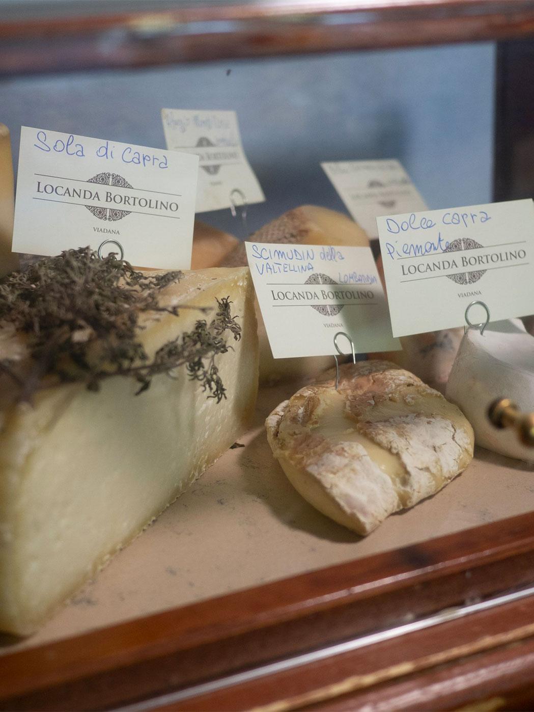 Cheeses Locanda Bortolino Restaurant